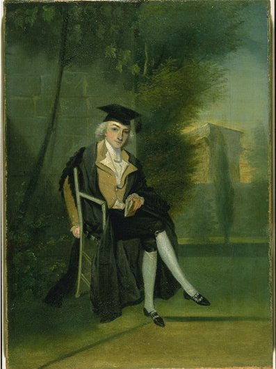 "James Smithson, dressed in his Oxford regalia, gave his estate to the United States to create an institution for the ""increase and diffusion of knowledge."" Courtesy of the Smithsonian Institution Archives."