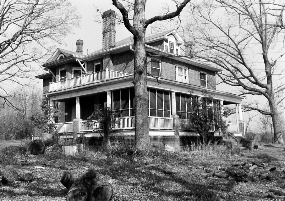 Don S.S. Goodloe Houe in 1986. Image by Susan G. Pearl, courtesy of Maryland Historic Trust (reproduced under Fair Use).