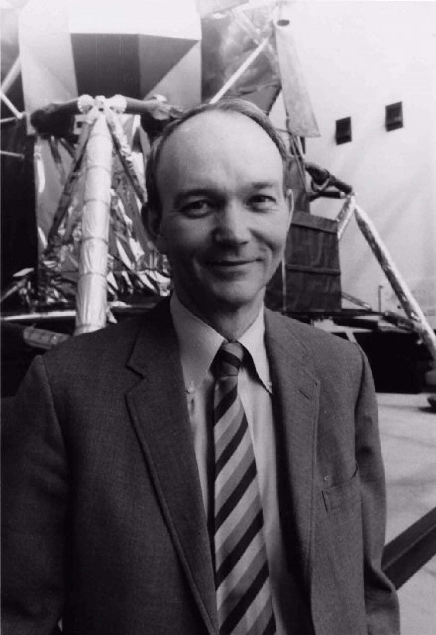 Michael Collins, Apollo 11 Command Module Pilot, served as the first director of the National Air and Space Museum.