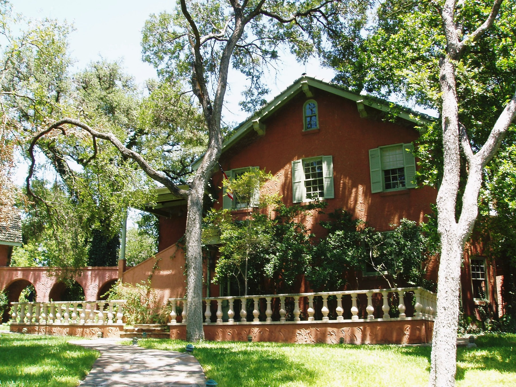 Judge Robert Lynn Batts House in Austin, Texas