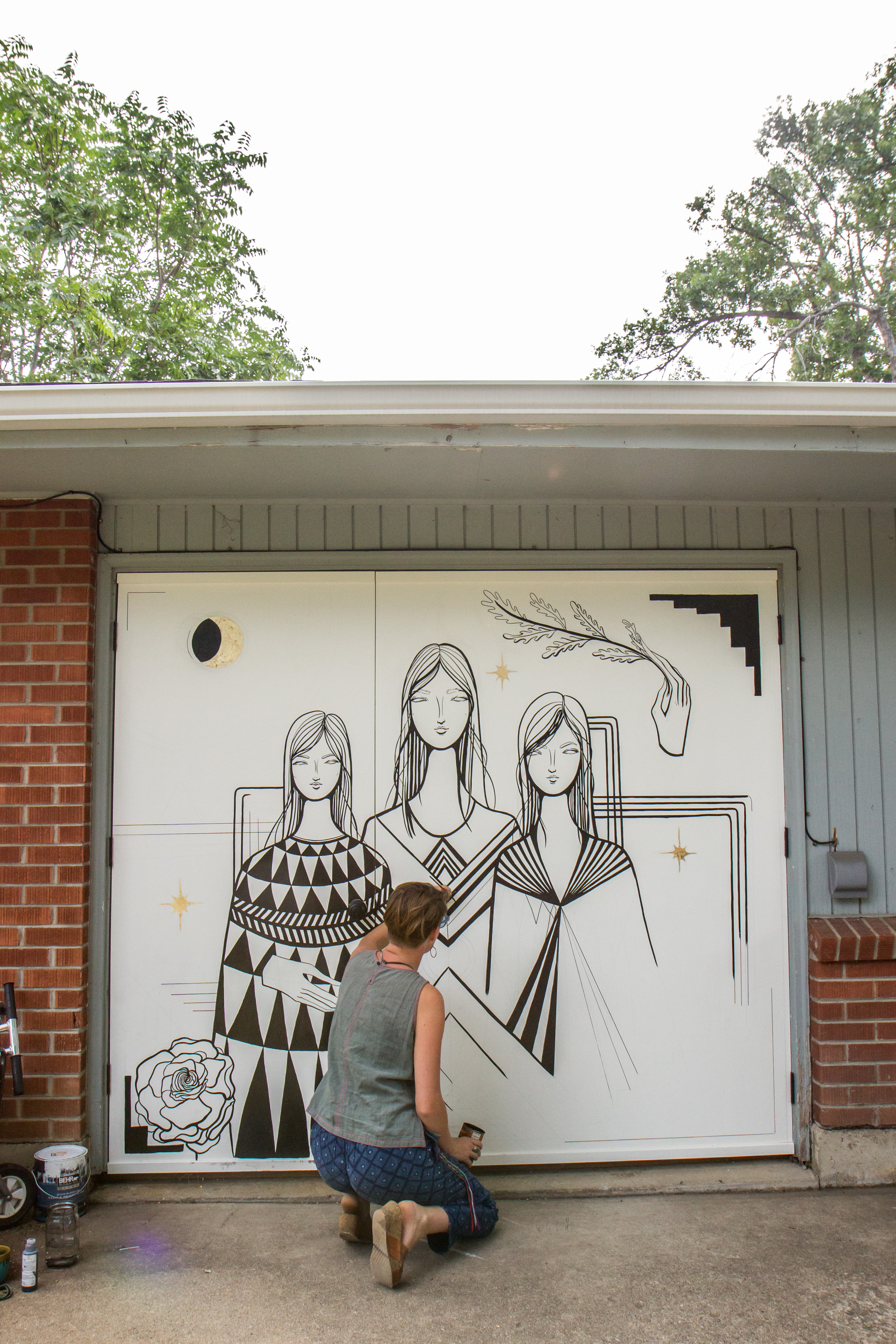 Mural by Lindee Zimmer