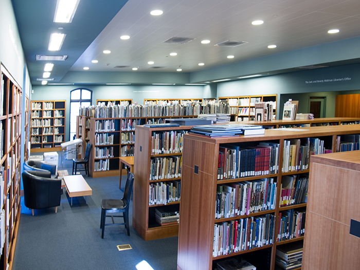 The museum's library