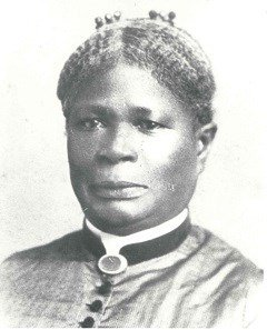 Born into slavery at Arlington, Selina Norris Gray served as Mary Lee's head housekeeper. She is credited with protecting family heirlooms and artifacts related to George Washington once Union troops occupied the house. National Park Service.