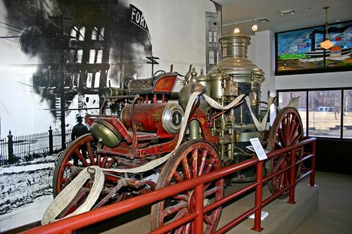 1908 American Fire Engine Company Steam Pumper