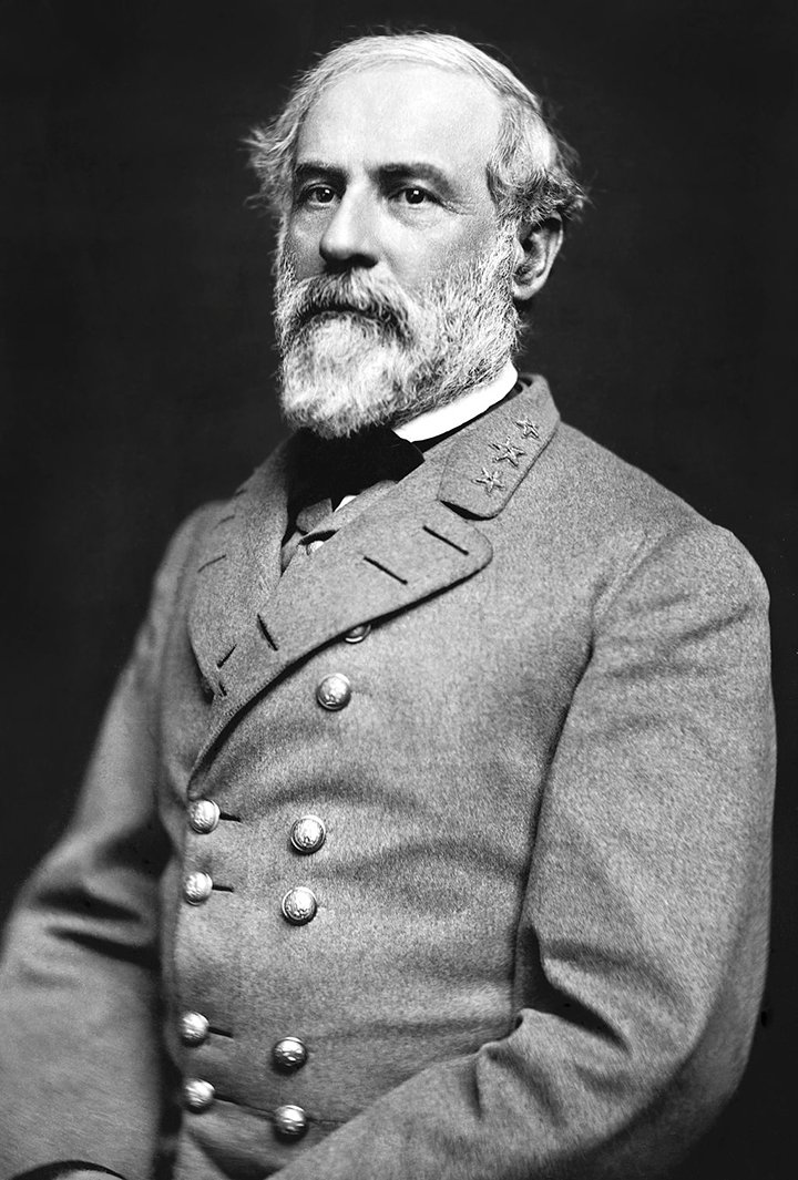 Confederate General Robert E. Lee planned to lead the Army of Northern Virginia into Pennsylvania, their first invasion of the North.  The Battle of Antietam forced him into retreat. Wikimedia Commons.