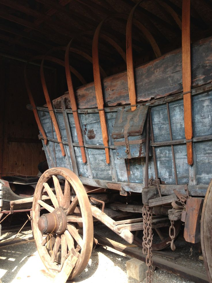 The authentic eighteenth century Conestoga Wagon.