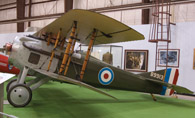 Spad fighter plane from WWI