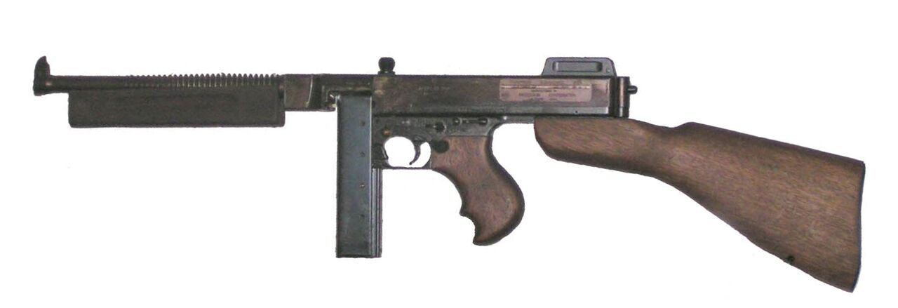 "The ""Tommy Gun"", or Thompson Submachine Gun"