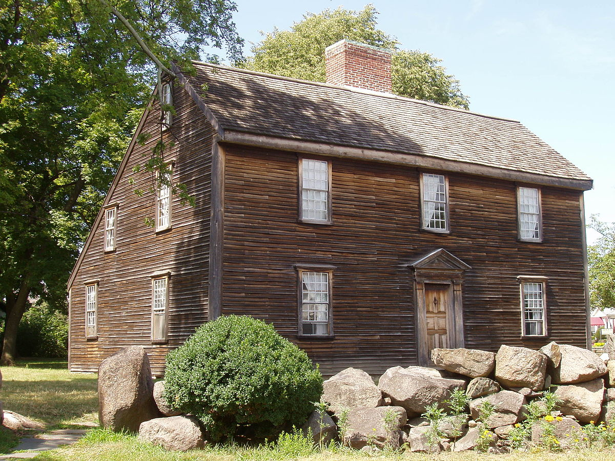 The Birthplace of John Adams - the second president of the United States and one of the founding fathers of America .