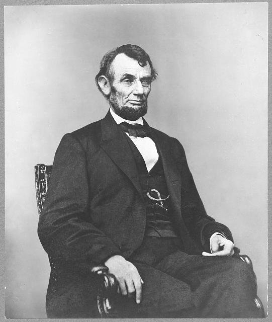 Portrait of Abraham Lincoln by Anthony Berger. Courtesy of the Library of Congress.