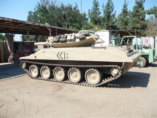 Sheridan tank