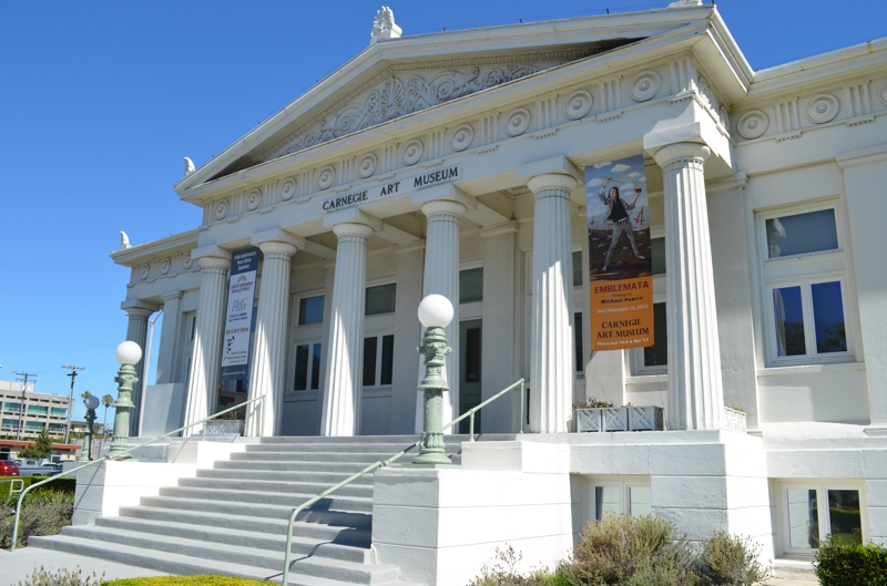 The Carnegie Art Museum, formerly the Oxnard Public Library.