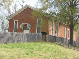1861 brick church