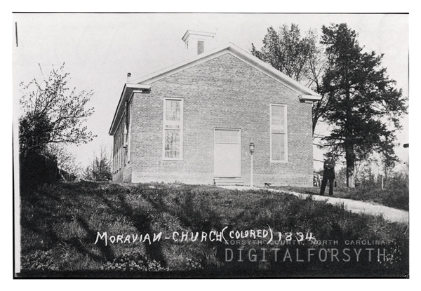 1890 photo of church-rear view