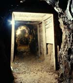 Restored tunnel at mine