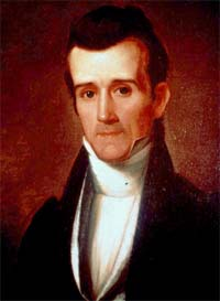 A young James K. Polk