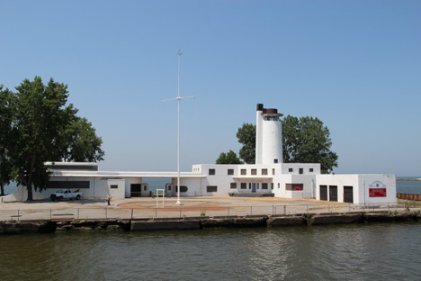 Old Ninth District Coast Guard Station, constructed in 1940