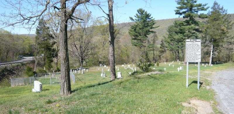 Entrance to Mt. Pisgah Cemetery