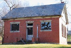 Halltown School in 2008