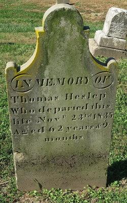 Thomas Heslep Grave
