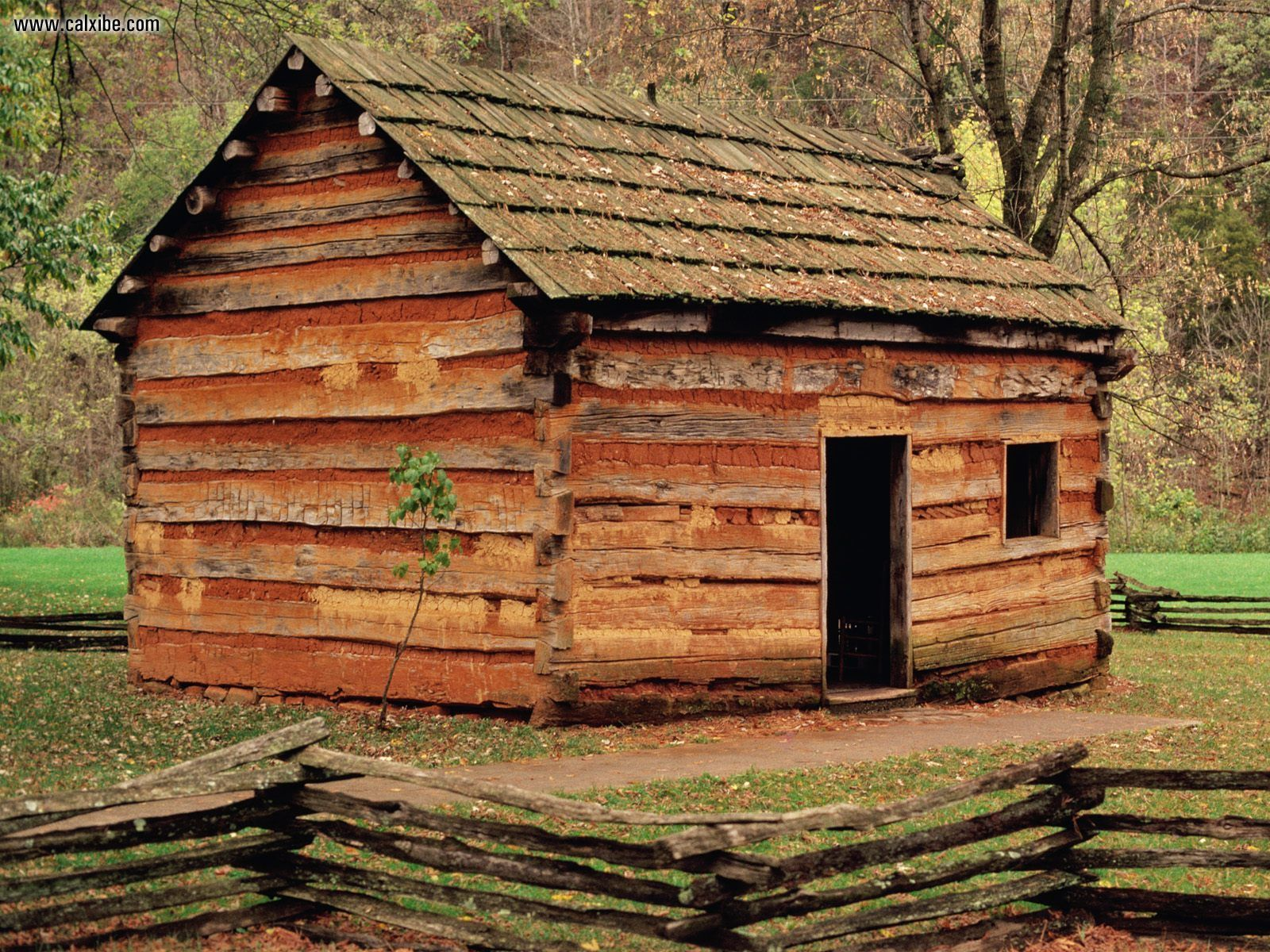 This cabin at Knob Creek Farm was constructed in 1931