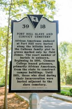 Cemetery Historical Marker