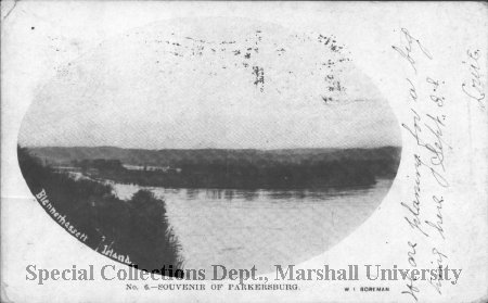 Blennerhassett Island in 1906. Courtesy of Marshall University Special Collections.