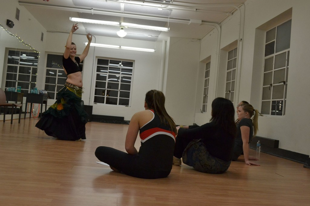 Belly Dancing class conducted at the center
