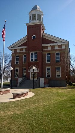 Poweshiek County Courthouse was listed on the National Register of Historic Places in 1981