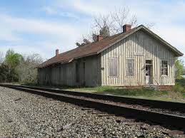Train depot at Trevilians Station as it looks today