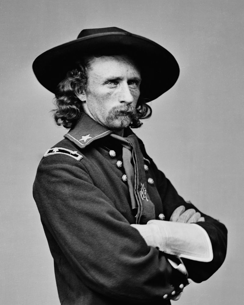 Union Cavalry General George A. Custer