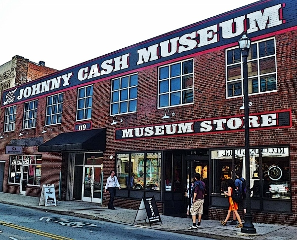 The Johnny Cash Museum is one of the top attractions in Nashville.
