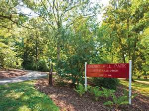 Entrance to Cherry Hill Farm