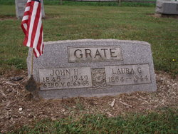 John Grate Headstone