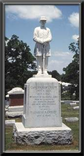 Memorial Statue of Capt. Andrew Offutt