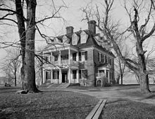 Shirley Plantation circa 1900-1906