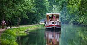 Boat on the C&O Canal.