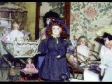 Some of the dolls featured in the Clay Castle Museum