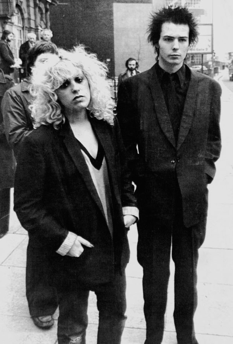Sid Vicious and Nancy Spungeon