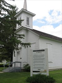 Outside view of the Universalist Church
