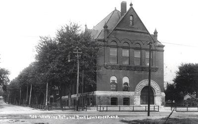 A historic photo of the Watkins Building from the museum's official website