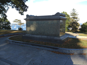 Sarcophagus on Cole's Hill (Courtesy of Patrick Browne)