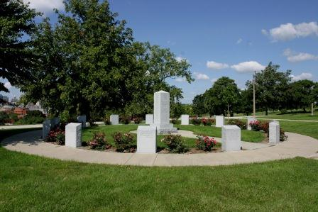 View of the Iowa Revolutionary War Monument