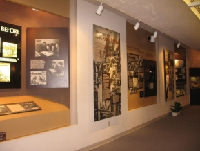 Permanent exhibit at the center