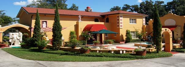 The Albin Polasek Museum and Sculpture Gardens.