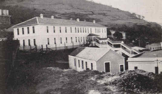 Undated photo of the detention center
