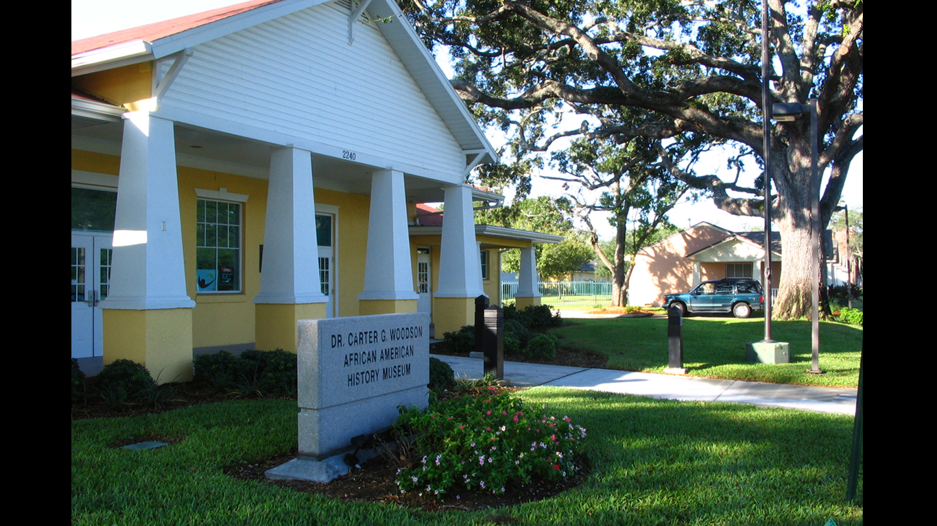 The museum offers a variety of exhibits and collections related to African American history in Florida