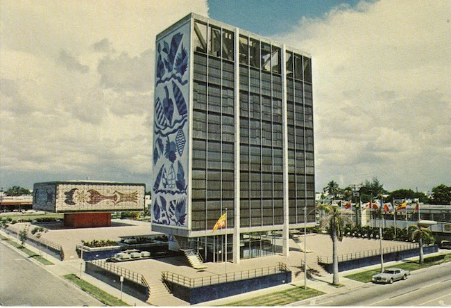 Historic photo of the Bacardi Complex.