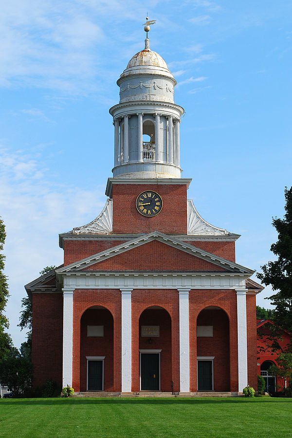 First Church, aka the Bulfinch Church (image from Wikimedia)