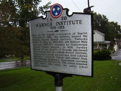 Institute marker